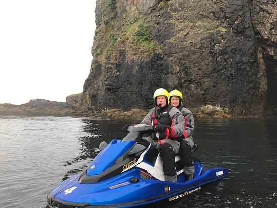 Olafsfjordur, Iceland: Amazing Jetski experience :-)