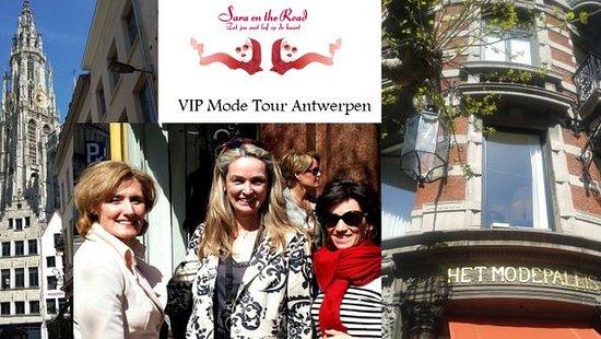 Antwerpen, Belgien: Modewandeling? Yess!