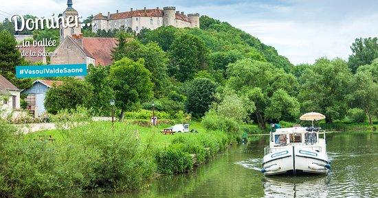 Haute-Saone, Francja: #VesoulValdeSaone, Echappez-vous et larguez les amarres le long de la Saône