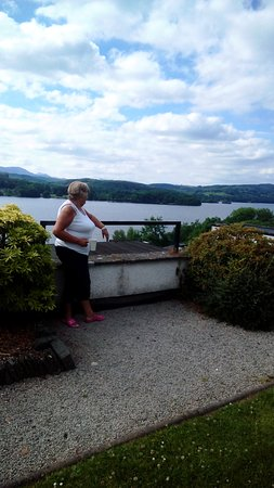 Beech Hill Hotel & Spa: View from balcony