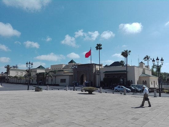 Royal Palace of Rabat: Esterno