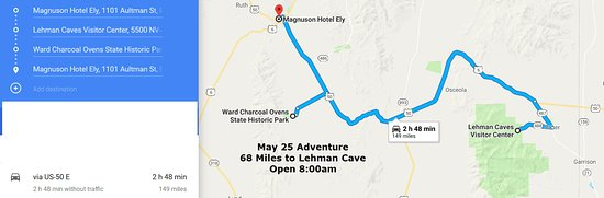 Map - Picture of Lehman Caves, Great Basin National Park - TripAdvisor