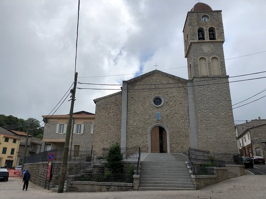 Chiesa di San Michele Arcangelo at the town square in Ollolai