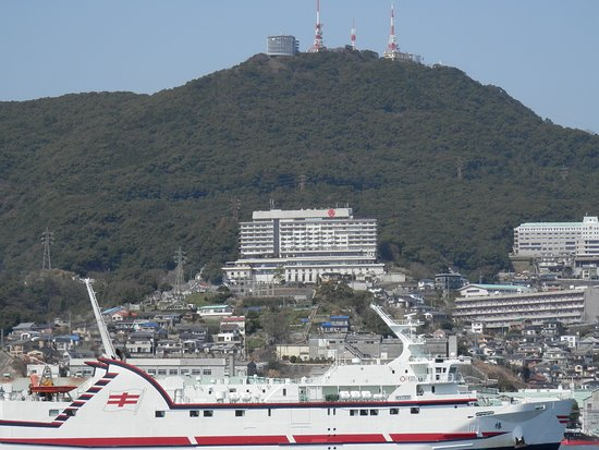 Monte Inasa: Mt Inasa from the port