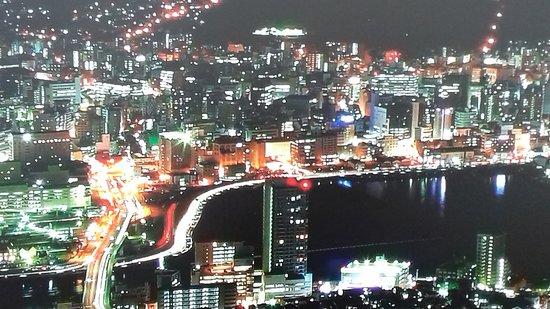 Monte Inasa: Nagasaki at night