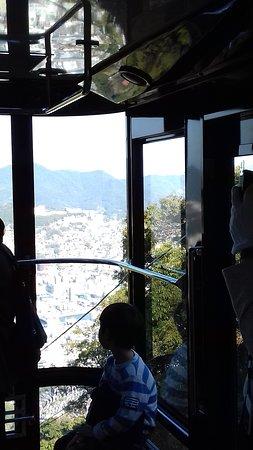 Monte Inasa: ropeway/cable car mt inasa
