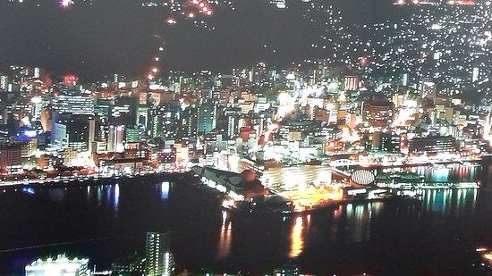 Monte Inasa: Nagasaki at night , Mt Inasa