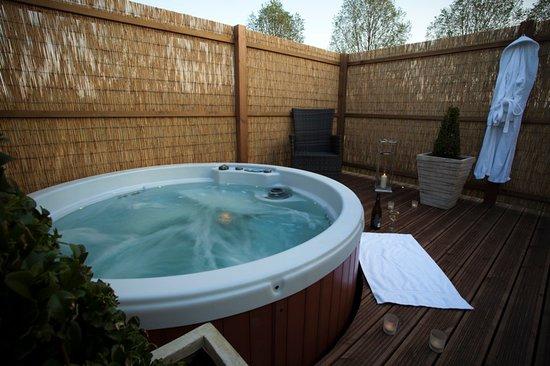 Foxton, UK: Private Hot Tub
