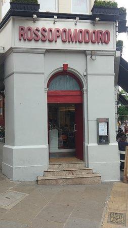 Rossopomodoro - Covent Garden: Sede