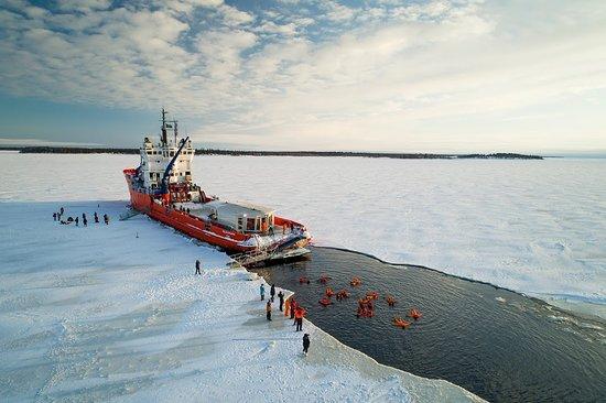 Kukkola, Szwecja: Icebreaker Polar Explorer