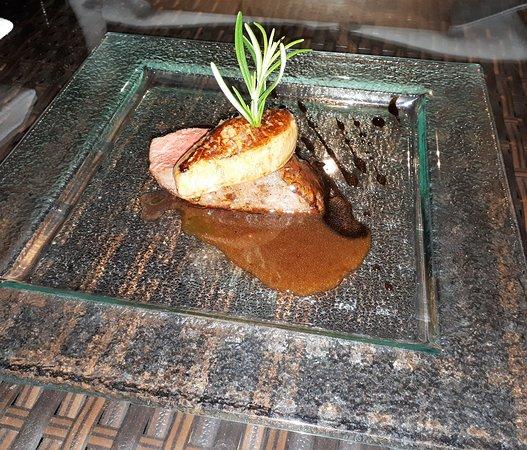 Restauracja Szeroka 12: Deer saddle, foie gras, port sauce
