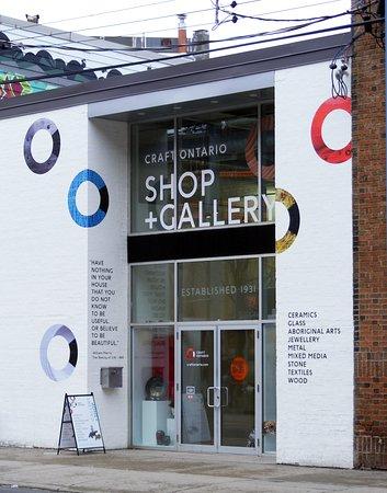 Craft Ontario Shop: Craft Ontario Queen St. storefront