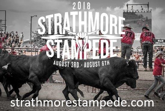 August 3-6, 2018 Strathmore Stampede