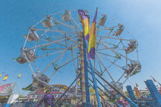 Strathmore, Canada: Midway and Carnival Games