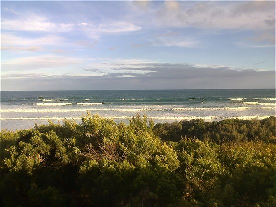 Anglesea, Australia: Fantastic unhindered views from the decking. [2018]