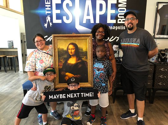 The Escape Room Indianapolis: Art Gallery, The Escape Room Indy