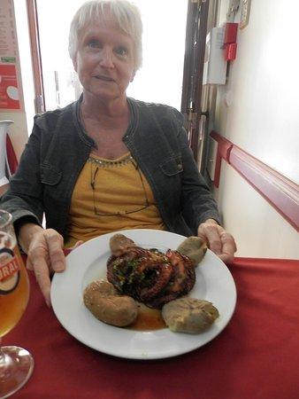 O Garrafao: le poulpe ( on a adore)