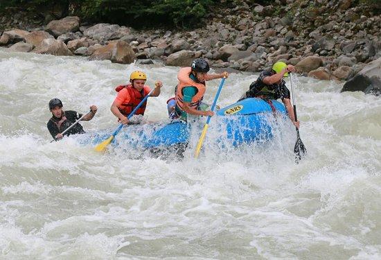 Cubarral, Colombia: Haciendo Rafting en el Ariari con los duros