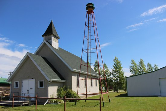 Drayton Valley, Canada: All-Saints Anglican Church, 1936