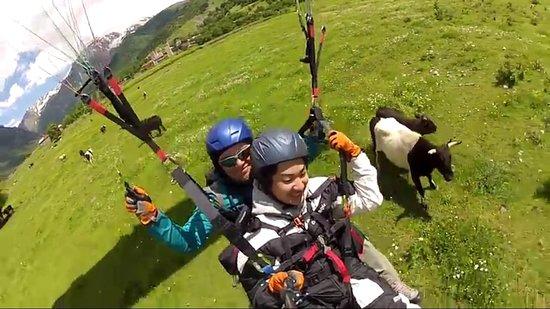 Gudauri, Georgia: Geo Fly Paragliding