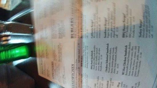 Delafield, WI: menu