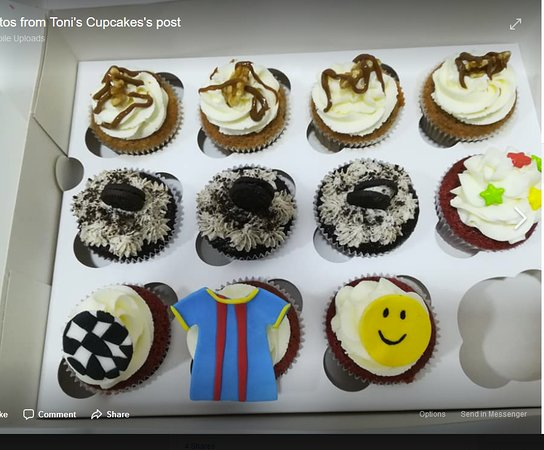 Cupcakes With Different Designs Picture Of Toni S Cupcakes