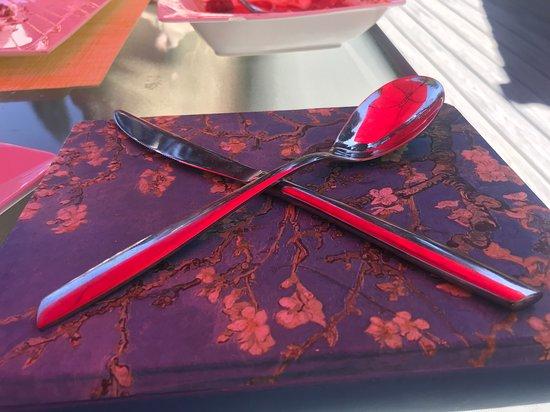 Blue Jay, CA: Italian silverware from Italy