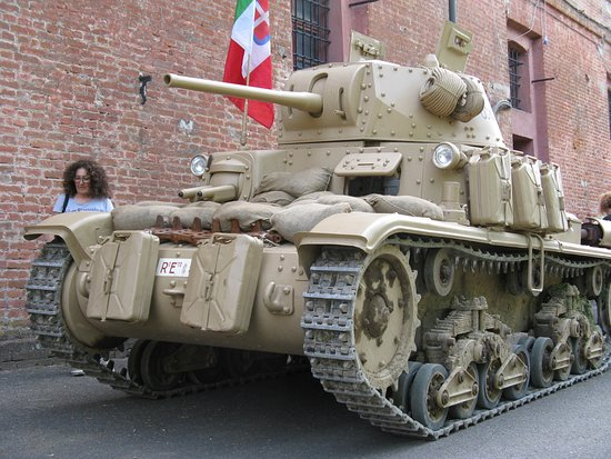 La Cittadella di Alessandria: Carro italiano M15/42