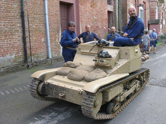 La Cittadella di Alessandria: Tankette italiana L3