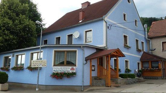 Bruck an der Mur, Áustria: Overall view of 'Gasthaus Kuhness'