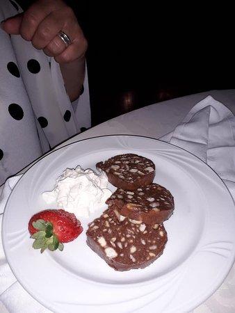 San Germano Dei Berici, Ιταλία: salame di cioccolato