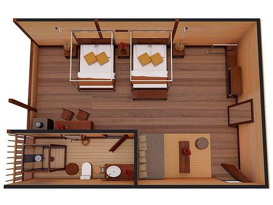 تامبوباتا ريسيرش سنتر لودج: Suite at Tambopata Research Center