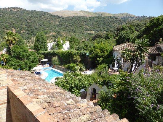 Molino del Santo: View from our room balcony