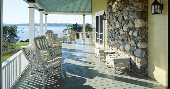 The Chebeague Island Inn Porch