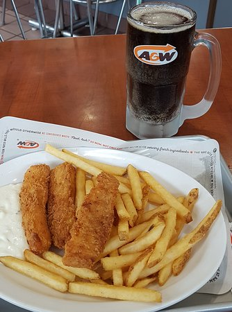 A&W: This is my 3pc Fish and Chips Hack