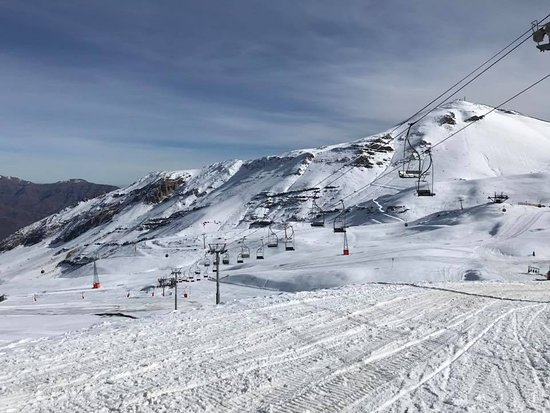 ‪‪Valle Nevado‬, شيلي: Hermosa vista de Valle Nevado en Santiago de Chile‬