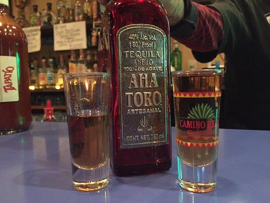 Excellent Top Shelf Tequila Sip It Slow No Lime No Salt Picture Of Desperados Mexican Restaurant Bar Naka Tripadvisor