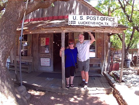 Luckenbach Texas Stop In And Say Howdy