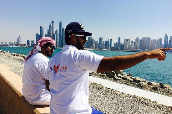 Visite de la ville de Dubaï et safari...