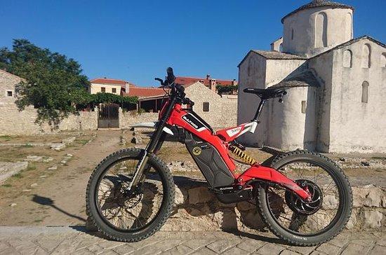 E - motor bike experience: Zadar - Nin