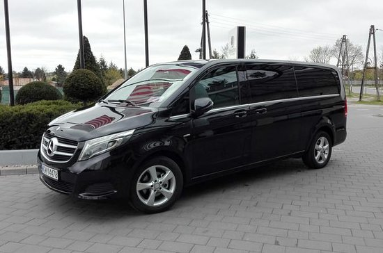 One way Minivan 6 pax Transfer Warsaw...