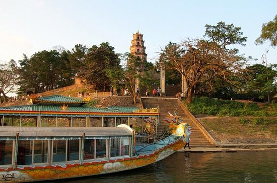 Hue city tour by car and boat trip on the perfume river