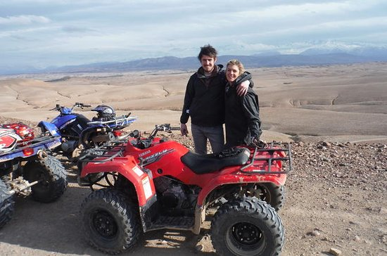 HALF DAY QUAD BIKING, lake Takerkoust...