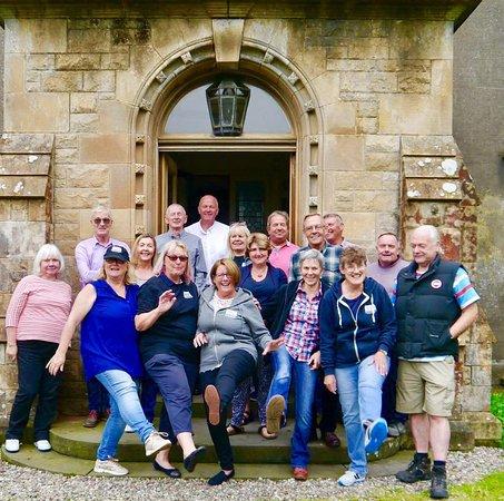 Bannockburn, UK: Celebrating the community purchase of the house