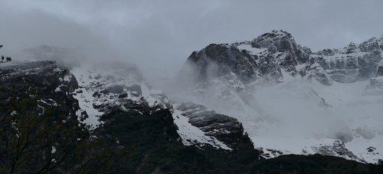 Dentam, Ấn Độ: Mt. Lamo Angdang from Lachen