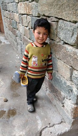Turtuk, الهند: Local Kid