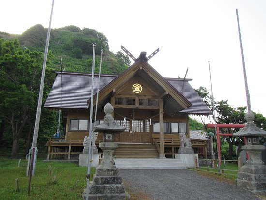 Setana-cho, اليابان: 事比羅神社の本殿