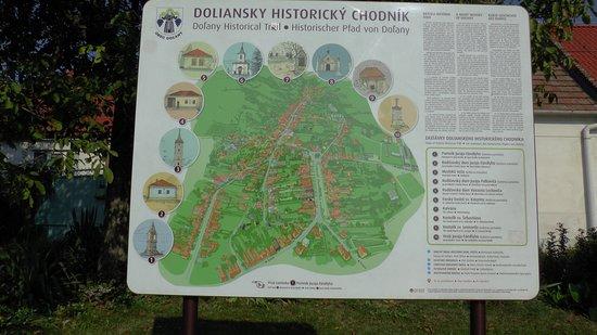 Dol'any, Slovakia: Orientačný plán