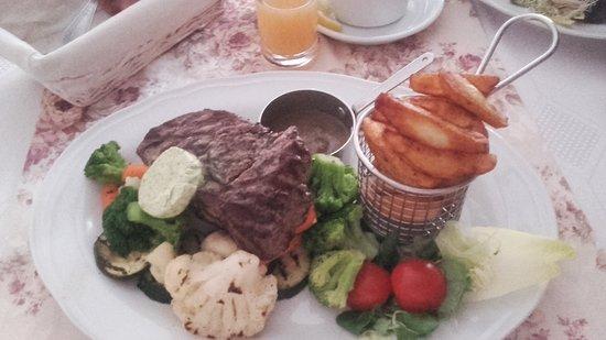 Branszczyk, Poland: Stek z polędwicy