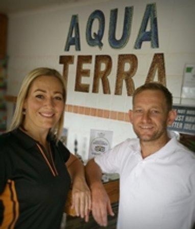 Lydenburg, South Africa: Owners Charlene & Ernest